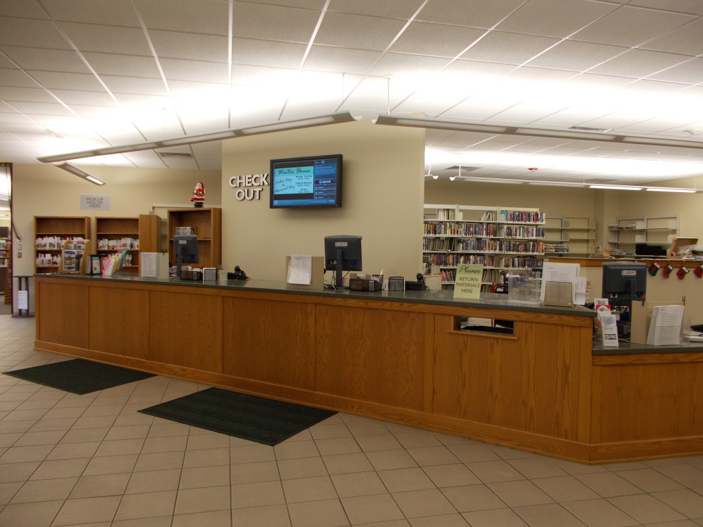 Employment applications may be submitted at the Circulation desk.